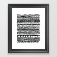 Nothing Stays The Same Framed Art Print