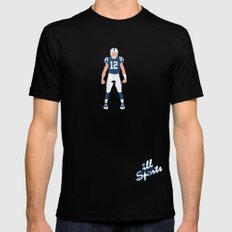 ColtStrong - Andrew Luck Mens Fitted Tee Black SMALL