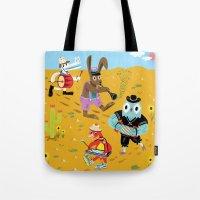 The Animal Jamboree Tote Bag