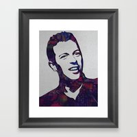 chris martin Framed Art Print