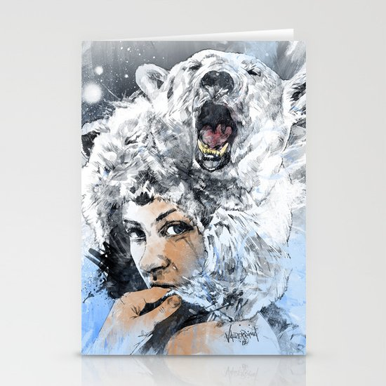 Arctic Tears Stationery Card