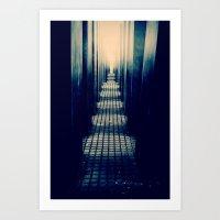 Slabs Art Print