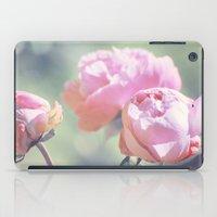 Pink Peony 2 iPad Case
