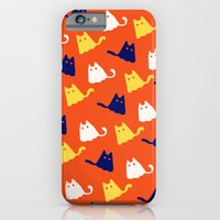 Ghostly Cats iPhone 6 Slim Case