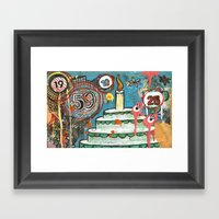 I Love Cake!  Framed Art Print