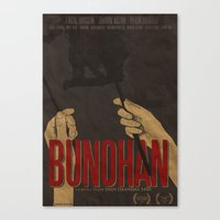 BUNOHAN Film Poster Canvas Print