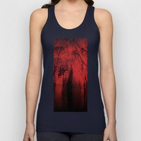 Blood red sky Unisex Tank Top