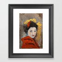 TOKYO SAD SONG - PART. Framed Art Print