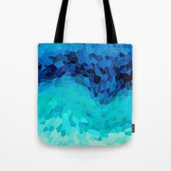 Tote Bag featuring INVITE TO BLUE by Catspaws