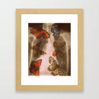 Experiment 3: Mutation Framed Art Print