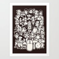 Point And Click  Art Print