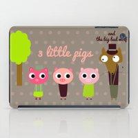 3 Little Pigs iPad Case