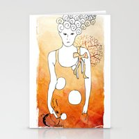 ordinary girl Stationery Cards