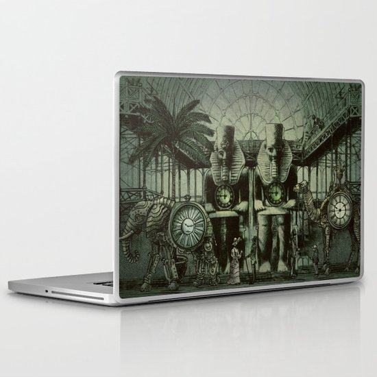 The Antiquities Market Laptop & iPad Skin