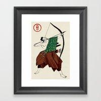 Slice & Dice - Archer Framed Art Print