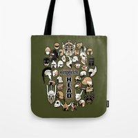 Helmets Of Fandom - Resp… Tote Bag