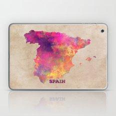 Spain map Laptop & iPad Skin
