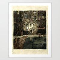 Rat Art Print