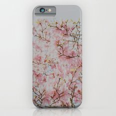 Pink Magnolias Slim Case iPhone 6s