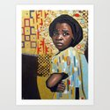 For The Raped In Congo Art Print