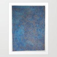 Portrait of a Starfish Art Print