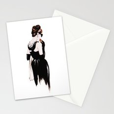 Breakfast At Tiffany's Audrey Hepburn Illustration Stationery Cards