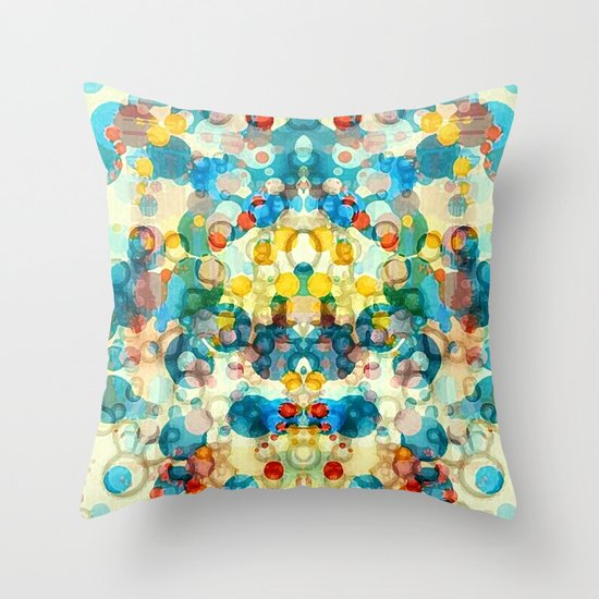Thangka Throw Pillow
