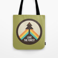 For the Love of the Forest Tote Bag