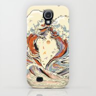 The Wave Of Love Galaxy S4 Slim Case