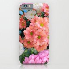 Soft Flowers iPhone 6 Slim Case