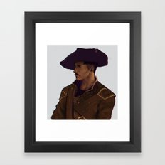 musketeer dorian Framed Art Print