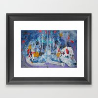 Moondog Framed Art Print