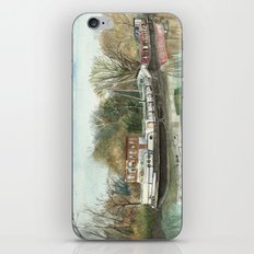 Rosa on the Grand Union Canal iPhone & iPod Skin