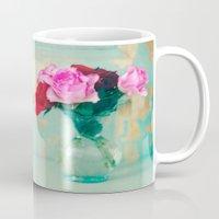Retro Roses Mug