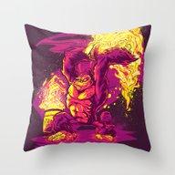 BARREL-CHUCKER Throw Pillow
