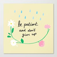 Motivational thoughts Canvas Print