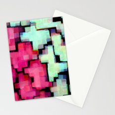 Color puzzle Stationery Cards