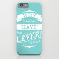 Why do we even have that lever? iPhone 6 Slim Case