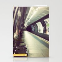 Going Underground Stationery Cards