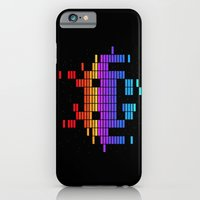 iPhone & iPod Case featuring Space Equaliser by Tshirtbaba