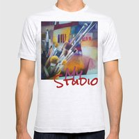 studio Mens Fitted Tee Ash Grey SMALL