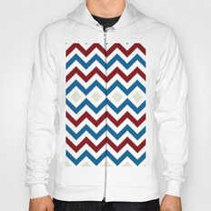 Nautical Chevron Hoody