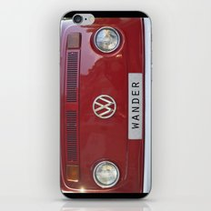 Wander wolkswagen. Summer dreams. Red iPhone & iPod Skin