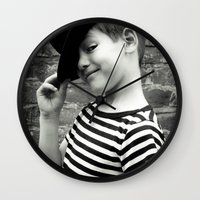 Juvenile Jazz 1 Wall Clock