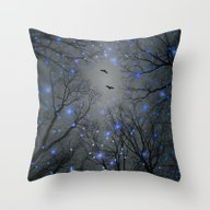 Throw Pillow featuring The Sight Of The Stars M… by Soaring Anchor Desig…