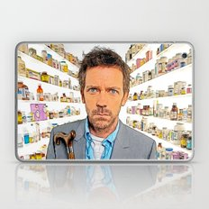 House MD - Colored Pencil Sketch Style Laptop & iPad Skin