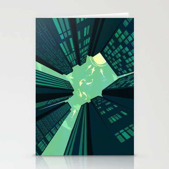 Solitary Dream Stationery Card
