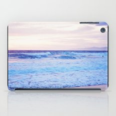 Purple Sunset over Hermosa Beach, Los Angeles  iPad Case