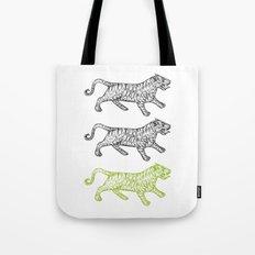 Three Tigers Tote Bag