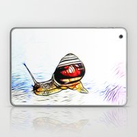 Fractal Snail Laptop & iPad Skin